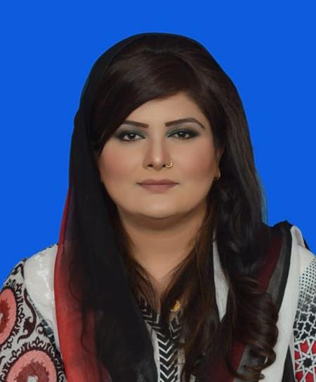 Dr Afshan Malik presedent woman wing